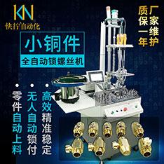 小铜件自动锁螺丝机 自动上料下料 自动化生产打螺丝