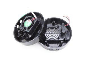 快速锁付加湿器底座双平台自动拧螺丝机案例